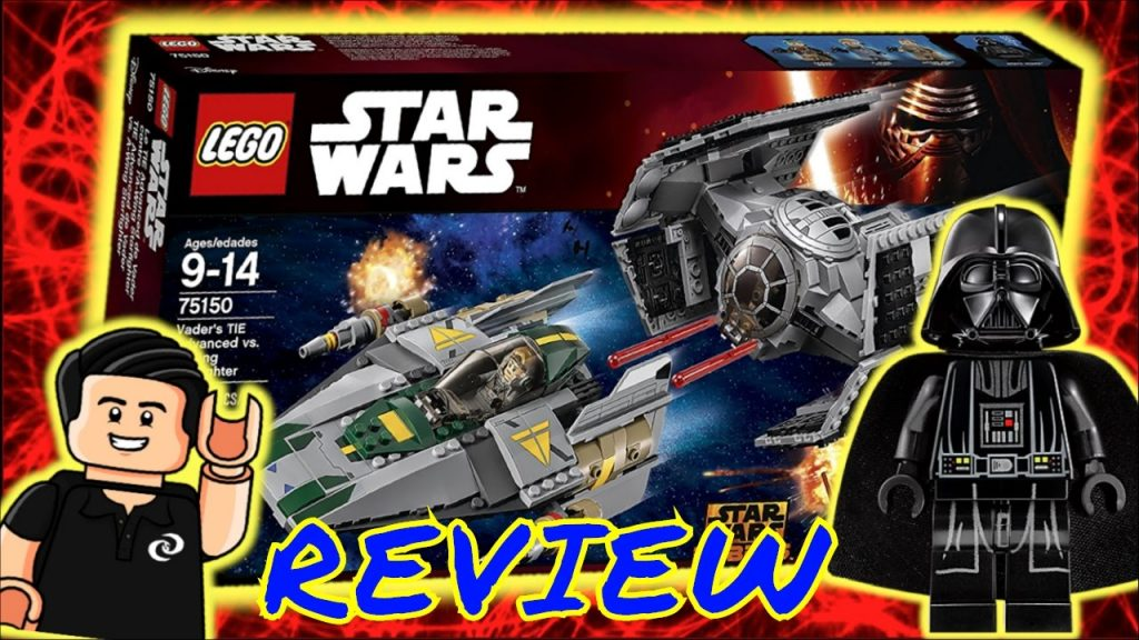 LEGO Star Wars TIE de Darth Vader VS. A Wing Review