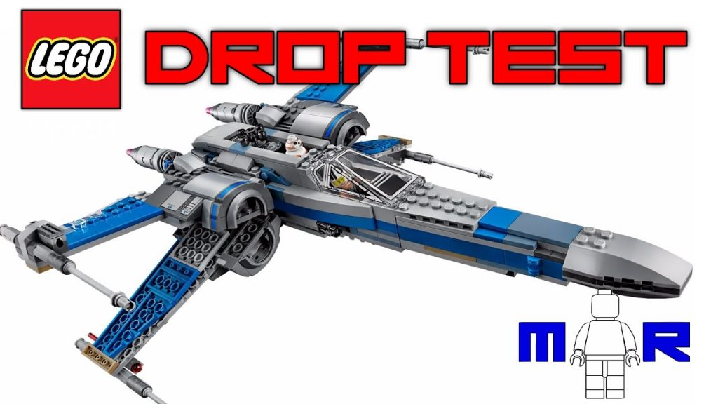 LEGO Star Wars Resistance X-Wing Fighter DROP TEST! (LEGO 75149)