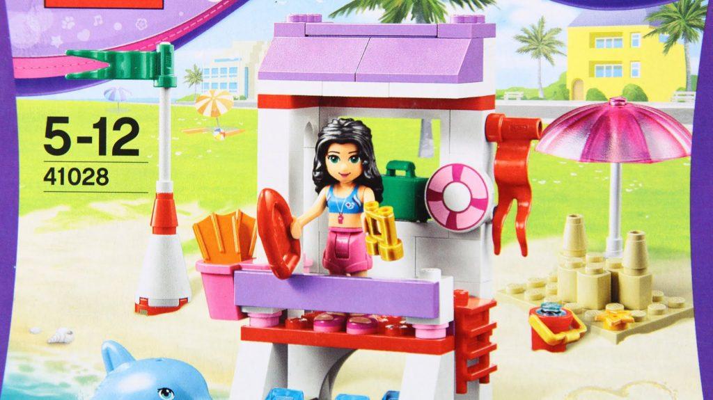 Emma's Lifeguard Post / Emma Ratownik 41028 – Lego Friends – www.MegaDyskont.pl