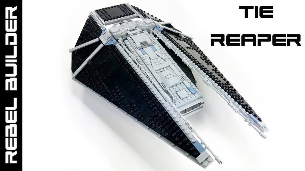 LEGO Star Wars TIE Reaper MOC from Rogue One!