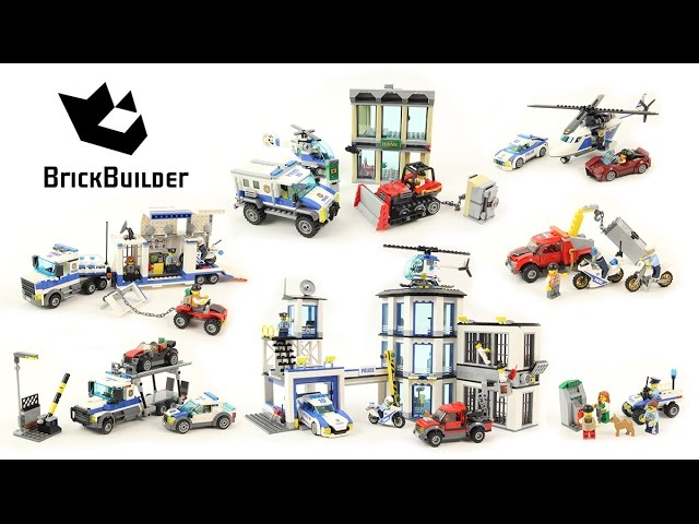 Lego City 2017 – All Police Sets Compilation – Lego Speed Build
