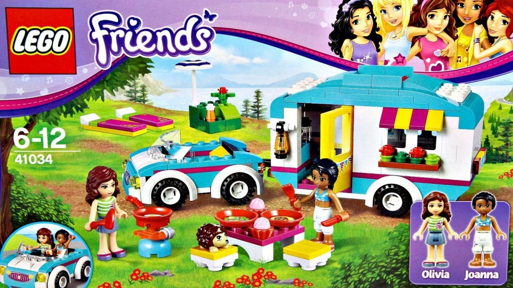 Summer Caravan / Wóz Kempingowy 41034 – Lego Friends – Recenzja