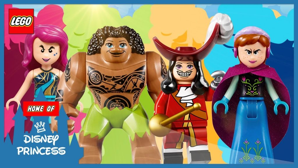 ♥ Wrong Eyes Frozen Anna Maui Captain Hook LEGO Friends Livi Finger Family Nursery Rhymes