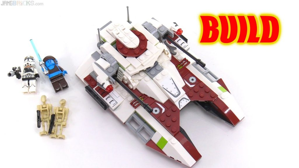 Time lapse ⏩ LEGO Star Wars Republic Fighter Tank 75182