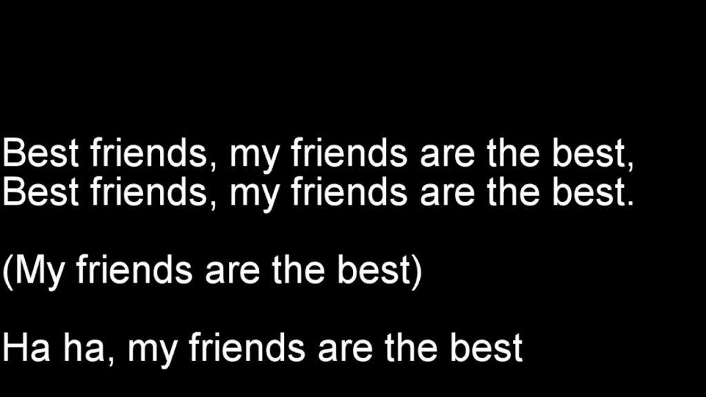 The Lego Batman Movie – Friends Are Family (Lyrics)