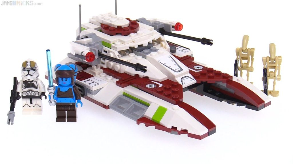 LEGO Star Wars 2017 Republic Fighter Tank review! 75182