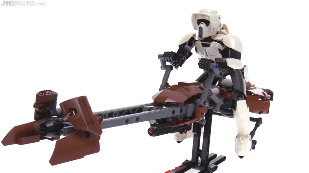 LEGO Star Wars large-scale Scout Trooper & Speeder Bike review! 75532