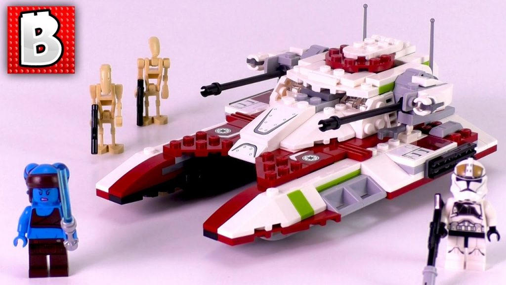 LEGO Star Wars 2017 Republic Fighter Tank 75182! |LIVE BUILD | Brickvault LIVE