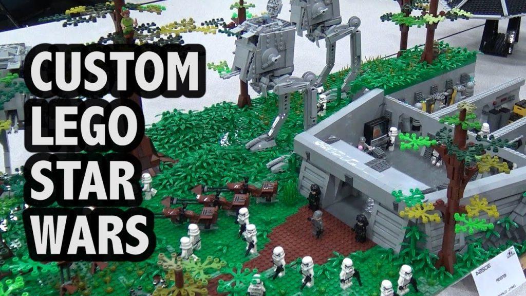 LEGO Star Wars Endor Battle | Bricks Cascade 2017