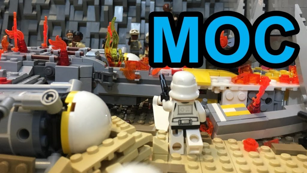 LEGO Star Wars: The Rescue on Jakku MOC