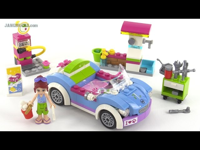 LEGO Friends Mia's Roadster review! set 41091