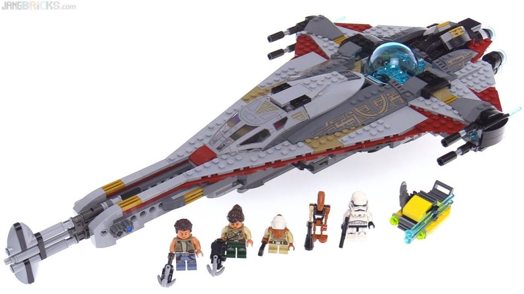 LEGO Star Wars: The Arrowhead set review! 75186