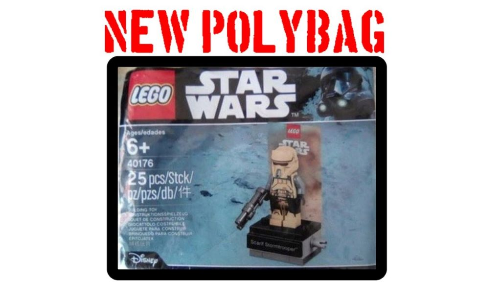 LEGO Star Wars 40176 Scarif Stormtrooper Polybag Leaked! (LEGO News)