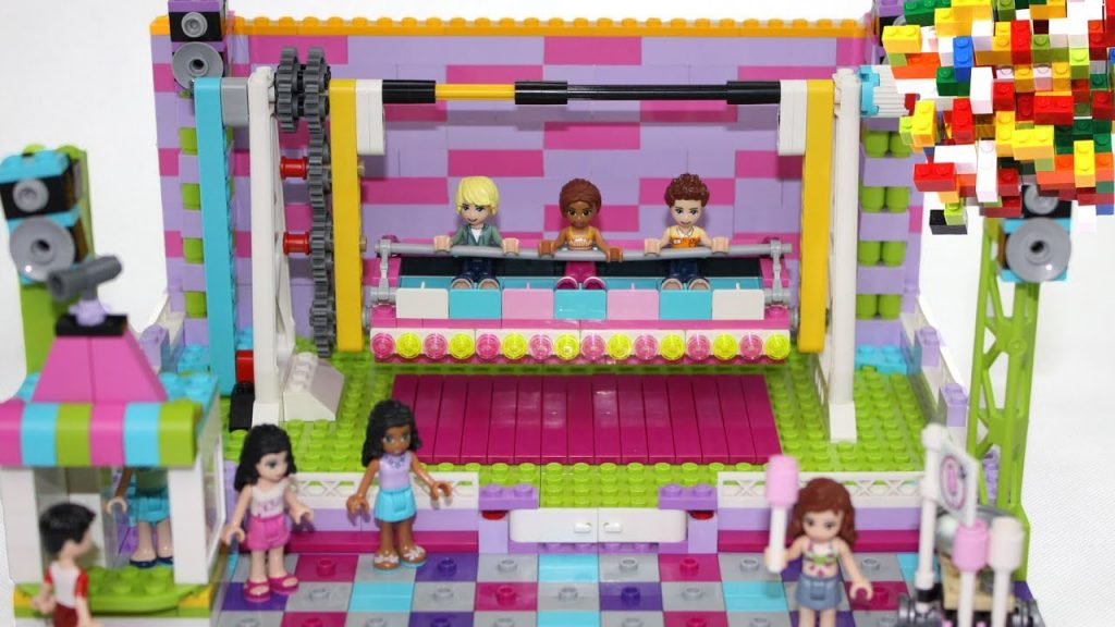 Lego Friends Super Funny Attraction Misty Brick.