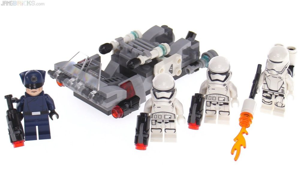 LEGO Star Wars First Order Transport Speeder Battle Pack review! 75166