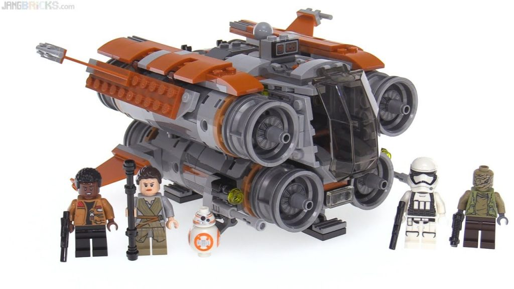 LEGO Star Wars Jakku Quadjumper review! 75178