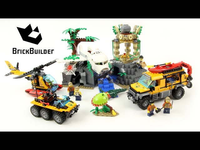 Lego City 60161 Jungle Exploration Site – Lego Speed Build