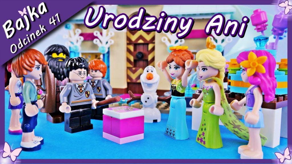 Urodziny Anny i magia Harrego Pottera – Bajka po polsku z klockami Lego Friends Princess odc.41