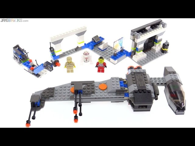 LEGO Star Wars B-Wing & Rebel Control Center from 2000! set 7180