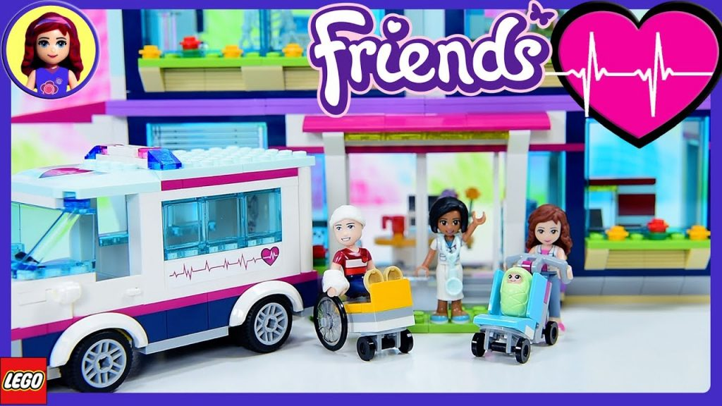 Lego Friends Heartlake Hospital Build Review Silly Play Kids Toys
