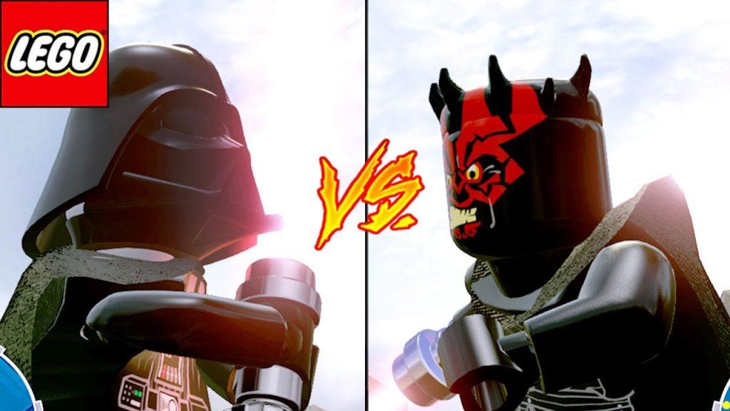 DARTH VADER VS DARTH MAUL – LEGO Star Wars O Despertar da Força