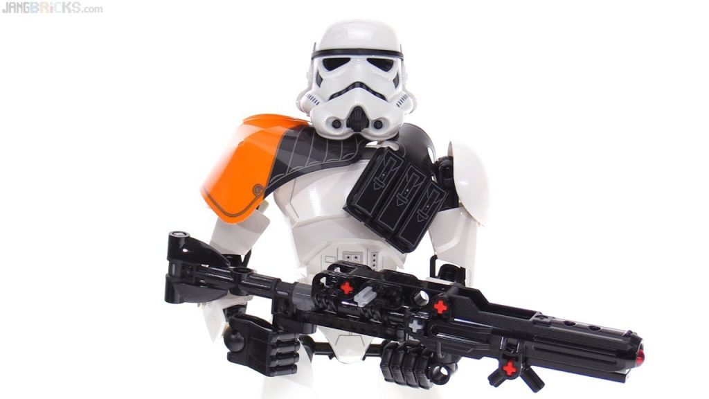 LEGO Star Wars Stormtrooper Commander large figure review! 75531
