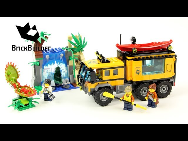 Lego City 60160 Jungle Mobile Lab – Lego Speed Build