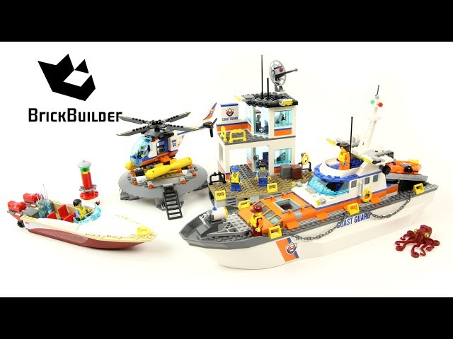 Lego City 60167 Coast Guard Headquarters – Lego Speed Build