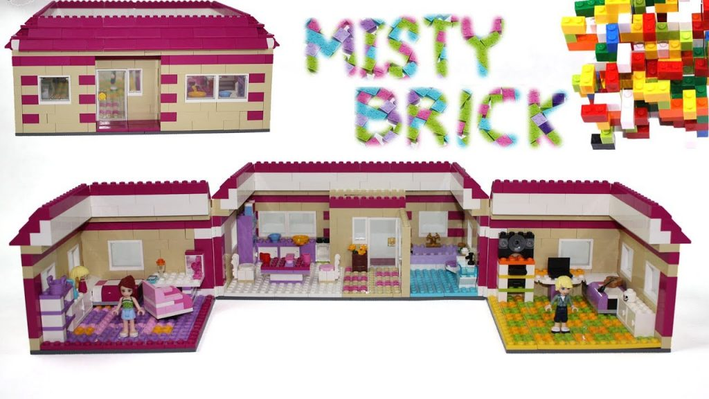 Lego Friends House #17 by Misty Brick.
