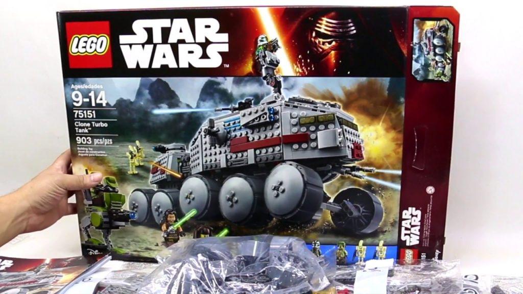 Lego Star Wars UNBOXING Clone Turbo Tank