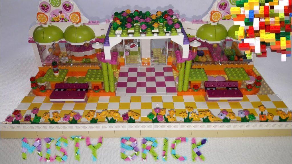 Lego Friends Fresh Bar by Misty Brick.