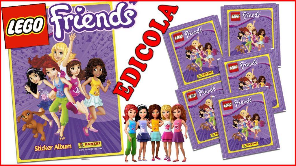 LEGO FRIENDS: Apriamo insieme l'album e le bustine delle figurine (Edicola)