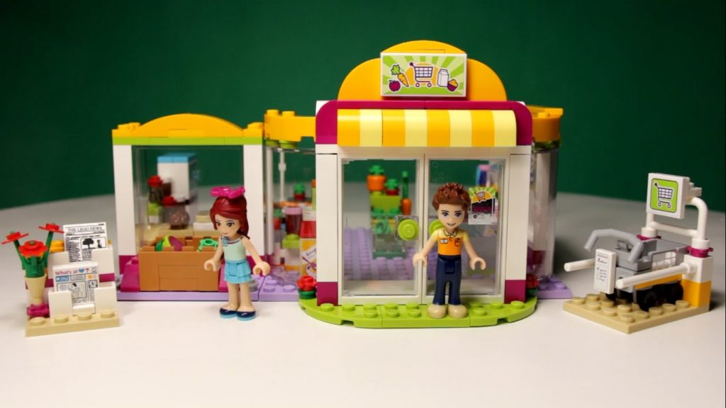 LEGO FRIENDS – HEARTLAKE SUPERMARKET, 41118 / ЛЕГО ФРЕНДС – СУПЕРМАРКЕТ,41118.