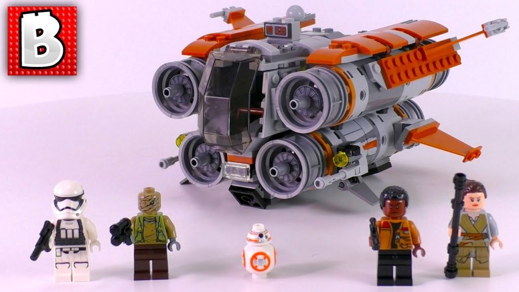 LEGO Star Wars Jakku Quadjumper Review! 75178 | Unbox Build Time Lapse