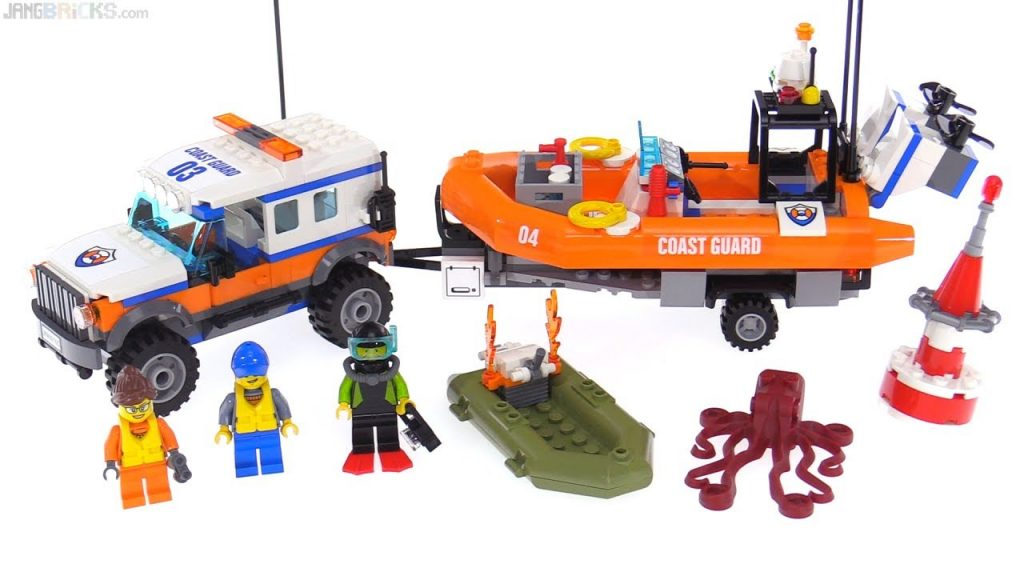 LEGO City 4×4 Response Unit review! Coast Guard set 60165