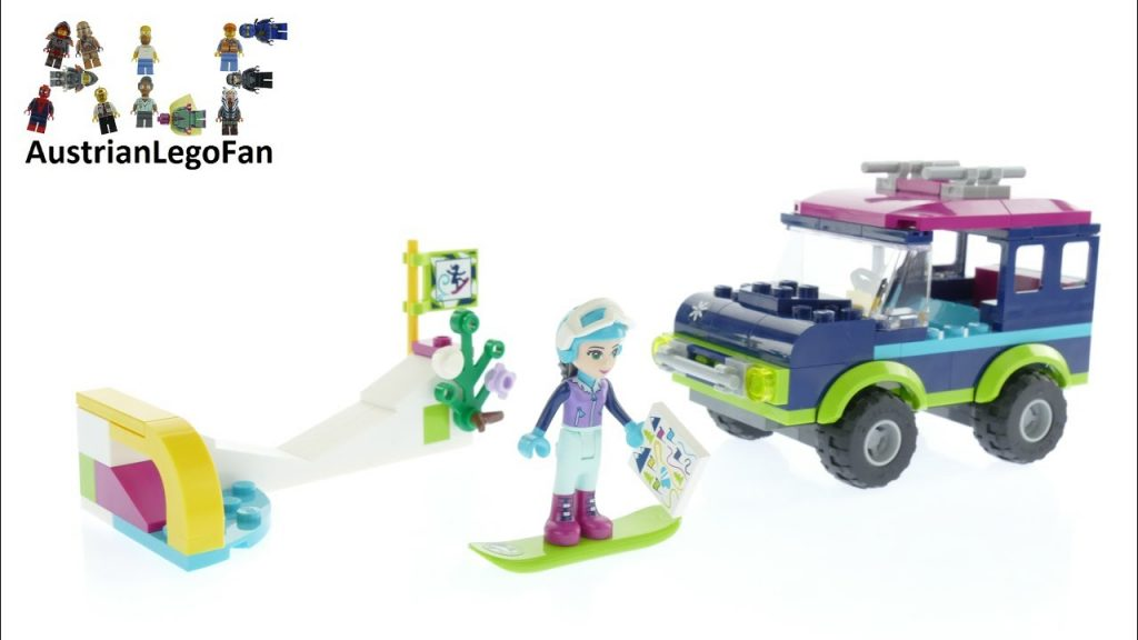 Lego Friends 41321 Snow Resort Off-Roader – Lego Speed Build Review