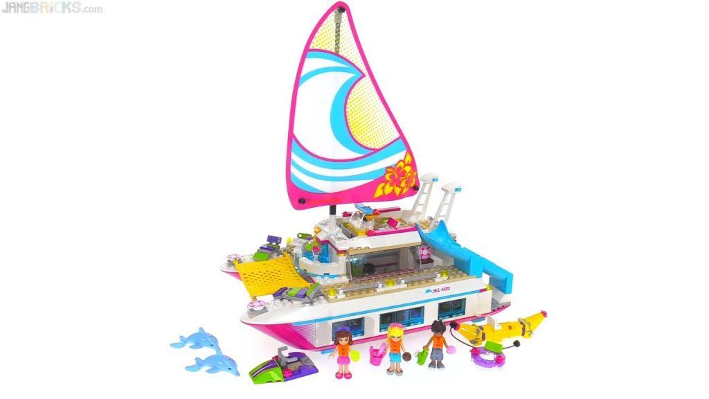 LEGO Friends Sunshine Catamaran review ⛵ 41317