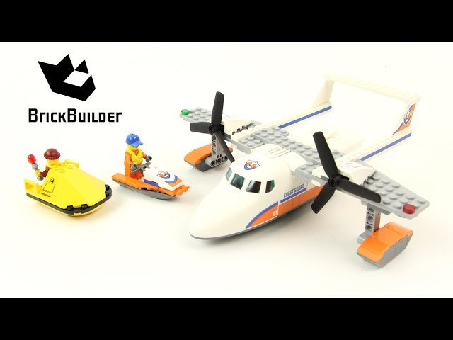 Lego City 60164 Sea Rescue Plane – Lego Speed Build