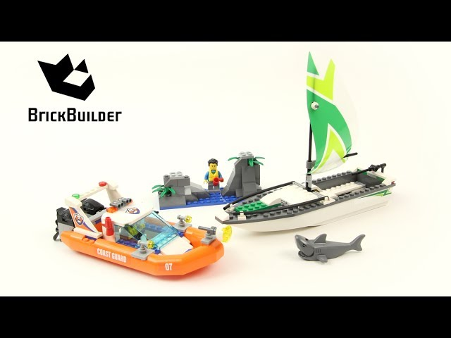 Lego City 60168 Sailboat Rescue – Lego Speed Build