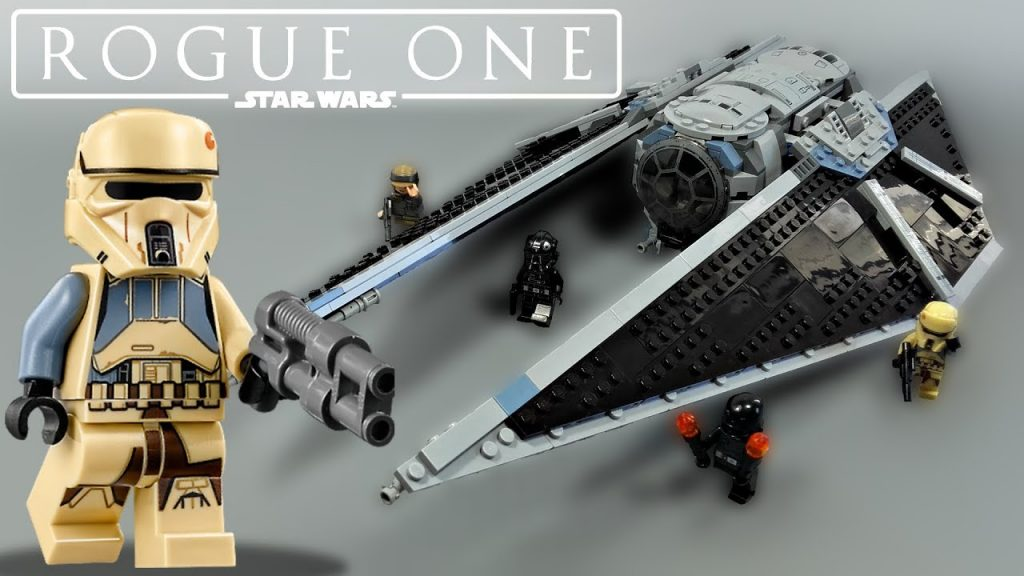 LEGO Rogue One: A Star Wars Story – TIE Striker (75154) – Review + Upgrade