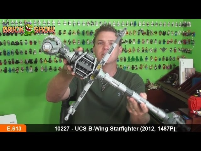 LEGO Star Wars UCS B-Wing Starfighter Review, LEGO 10227 Review