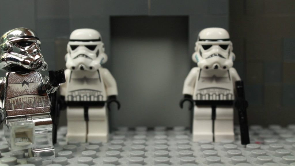 Lego Star Wars – The Silver Stormtrooper Returns