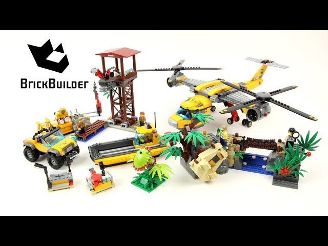 Lego City 60162 Jungle Air Drop Helicopter – Lego Speed Build