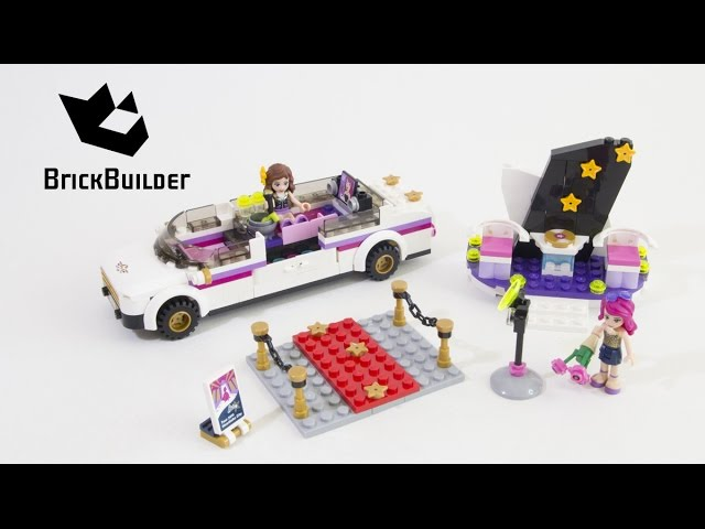 Lego Friends 41107 Popstar Limousine – Lego Speed Build