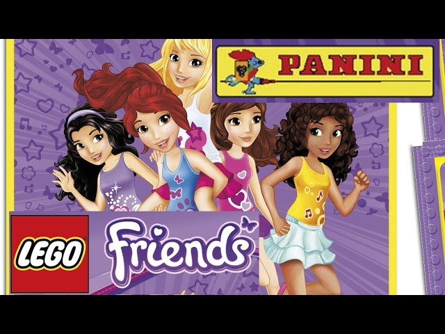 Lego Friends – Panini – Album & stickers / Album i naklejki – Mega collection to complement