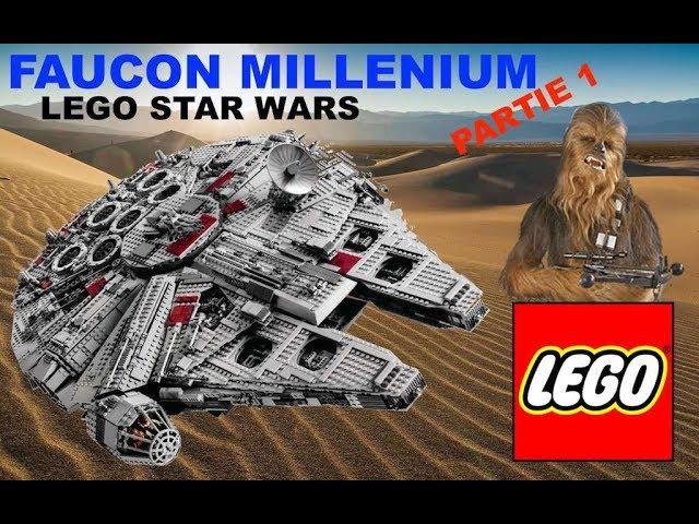 FAUCON MILLENIUM I LEGO STAR WARS I PARTIE 1