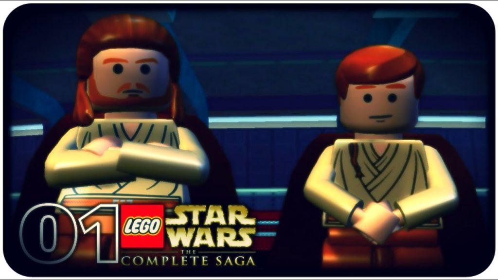 #01 – Zagrajmy w : LEGO Star Wars The Complete Saga / EP1 M1 – Negocjacje