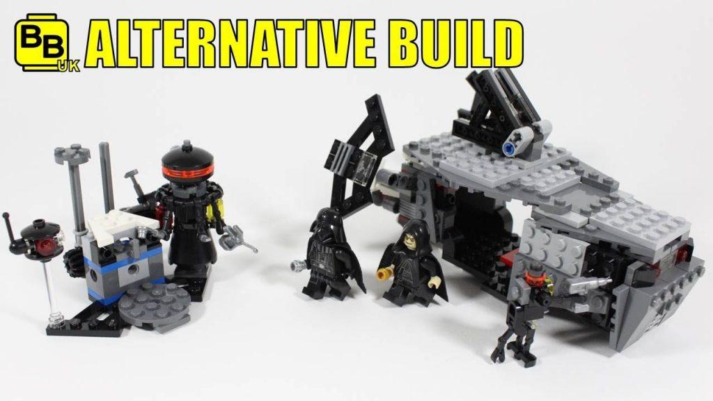 LEGO STAR WARS 75183 ALTERNATIVE BUILD IMPERIAL STEALTH SHUTTLE