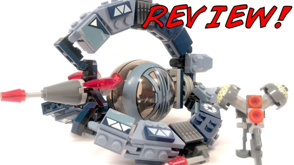 LEGO Star Wars Droid Tri-Fighter Review! LEGO 7252 Review! 2005 Set!