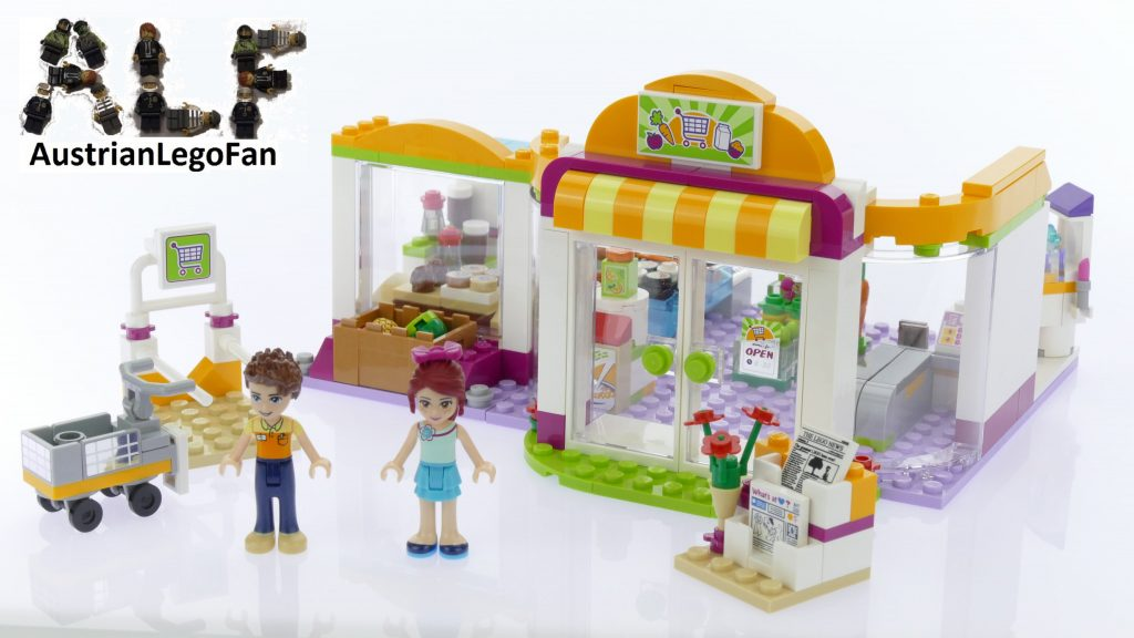 Lego Friends 41118 Heartlake Supermarket – Lego Speed Build Review